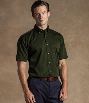 Short Sleeve Cotton Twill