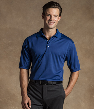 Mens Moisture Free Knit Polo