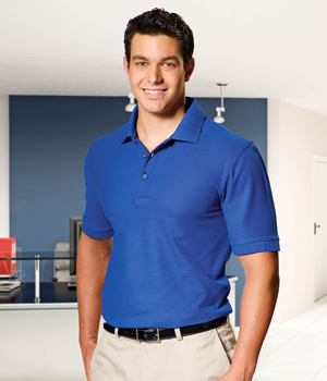 Mens Silky Smooth Knit Polo