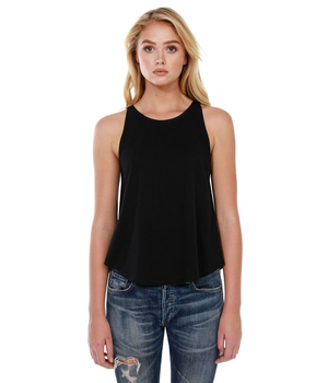 Womens Cotton Rounded Tank