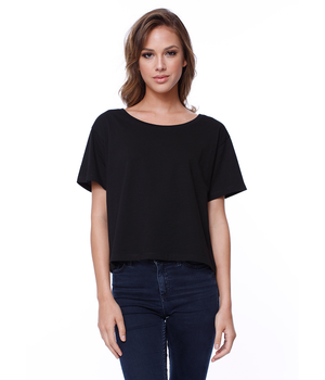 Womens Cotton Boxy Tee