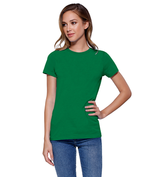 Womens Cotton Crew Neck Tee