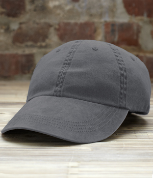 Solid 6 Panel Pigment Dyed Cap