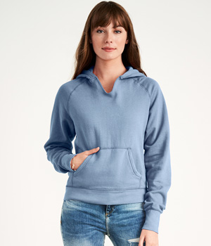 Ladies Hooded Pullover