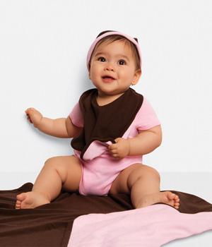 Baby Rib Reversible Bib
