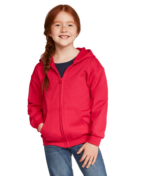 Youth Full Zip Hooded