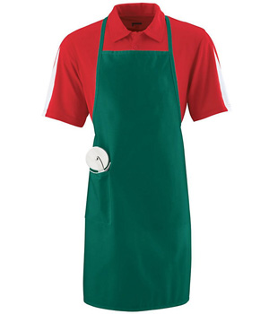 Long Apron With Pocket
