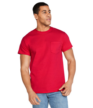 Ultra Cotton Tee With Pocket