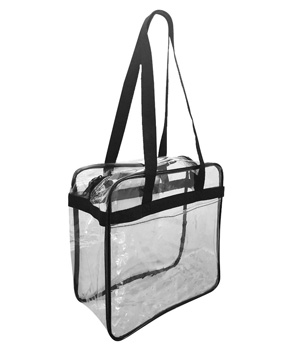Clear Zippered Tote