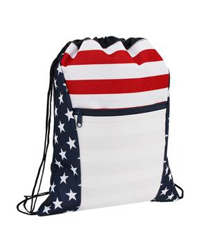 Americana Drawstring Bag