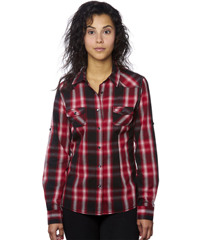 Ladies Western Plaid