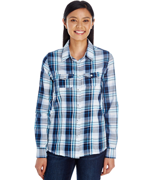 Ladies Plaid Woven