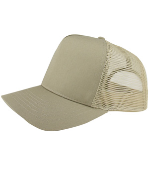 Poly Cotton Twill Trucker Cap