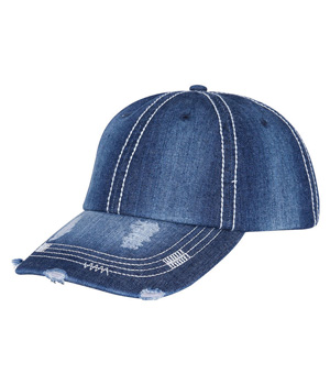 Heavy Wash Denim Cap
