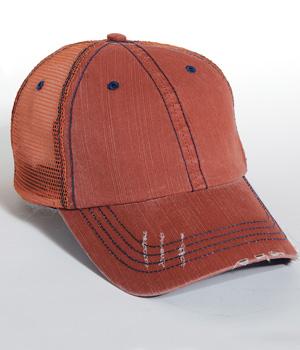 Herringbone Trucker Cap