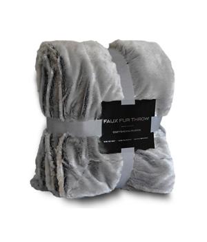 Faux Fur Blanket Throw