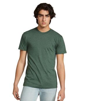 Poly-Cotton Crew Neck T-Shirt