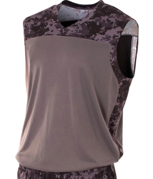 Camo Performance Muscle Tee