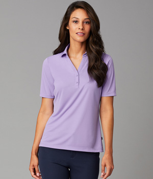 Womens Dynamic Y-Neck Polo