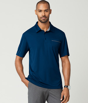 Adult Dynamic Pocket Polo