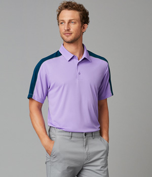 Adult Dynamic Blocked Polo