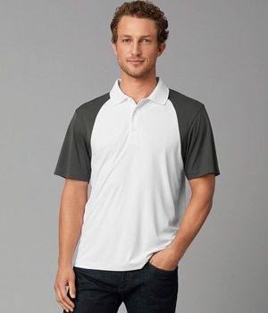 Adult Energy Color Block Polo