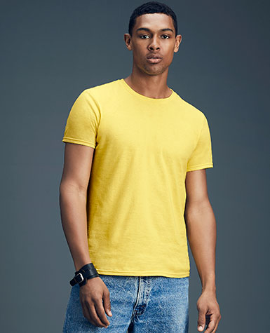 4f4d7ba73 980 ANVIL® Adult Lightweight Tee * 4.3 ounce * 100% combed ring spun cotton  * Heathers and Neons 65P/35C * Heather Graphite 50C/50P * Heather Grey  90C/10P ...